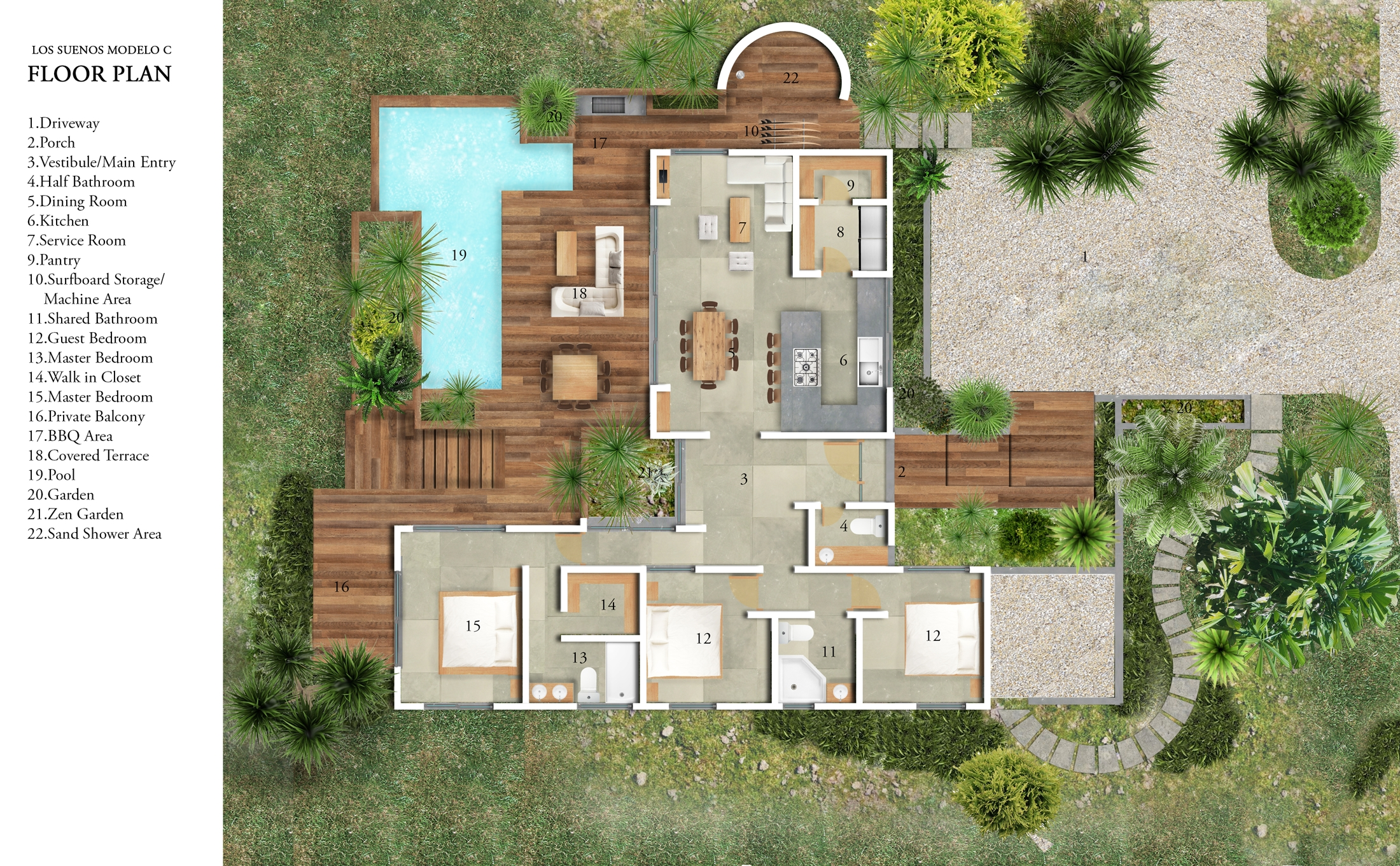 Outdoor Living Space House Plans House And Home Design